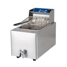 Birko Fryer - Single 8L- w/tap 15amp